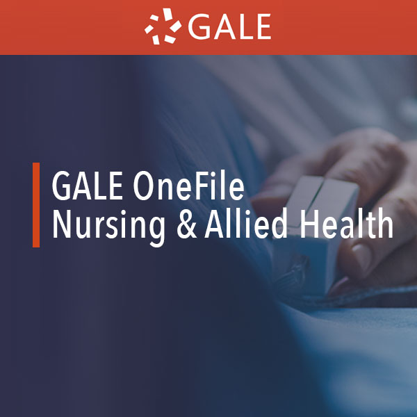 gale onefile nursing and allied health