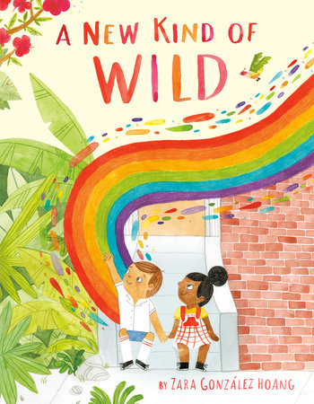 Book Cover of a New Kind of Wild
