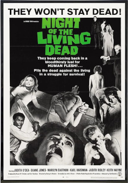 Night of the Living Dead movie cover