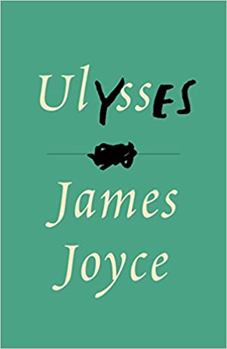 Ulysses by James Joyce cover