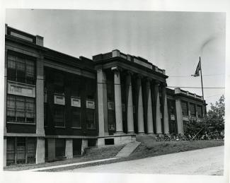 Washington Junior HS, circa 1950's