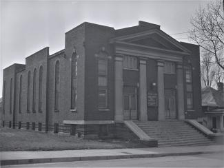 Capers CME Church in February, 1951