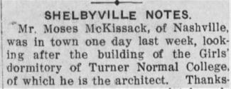 1912 Nashville Globe news clipping