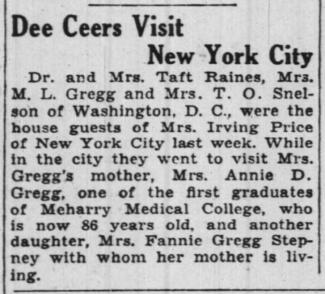 The Pittsburgh Courier clipping from 1938