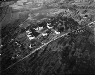 Aerial view of the TSU's campus, circa 1930's-40's